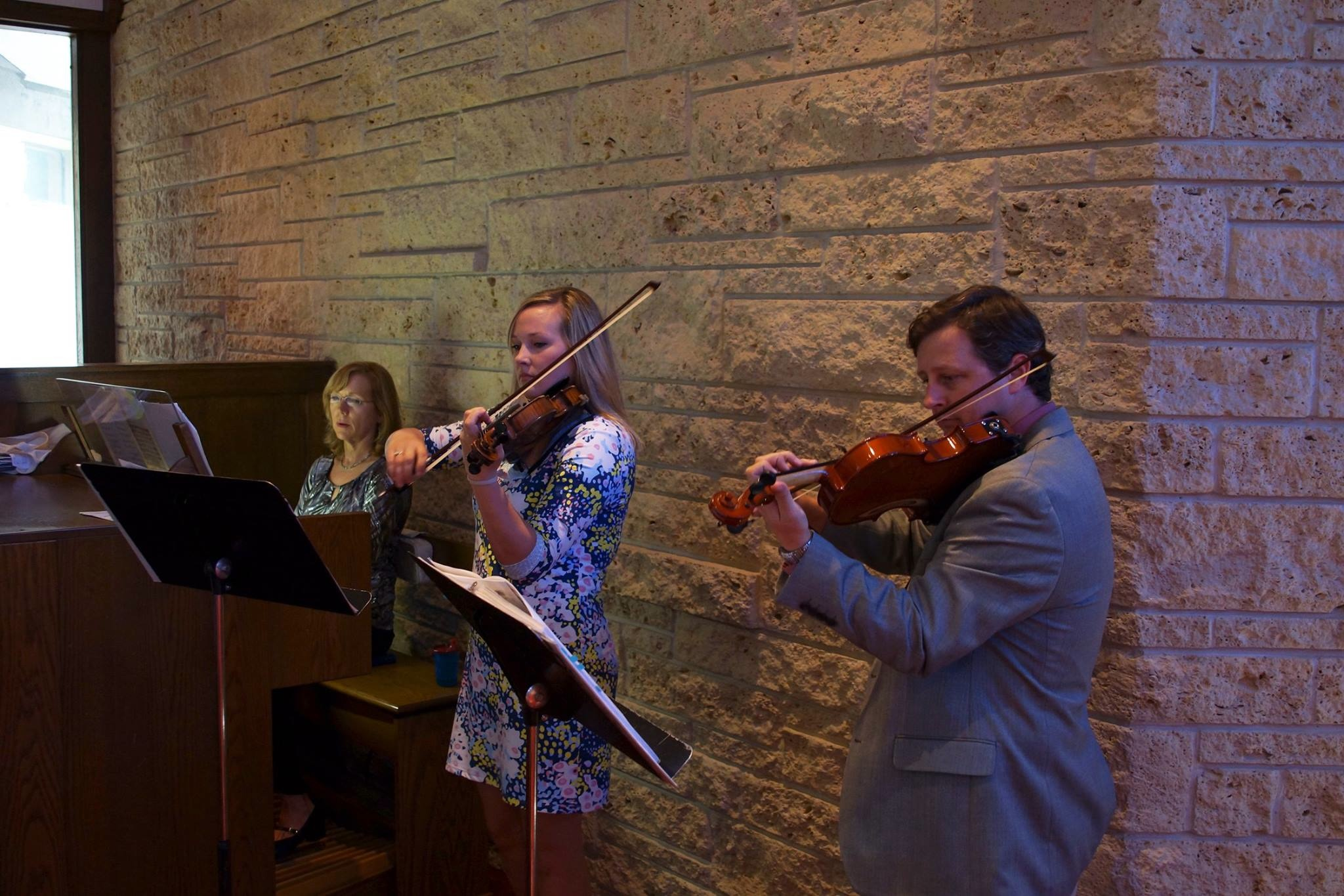 string quartet shreveport violin couple