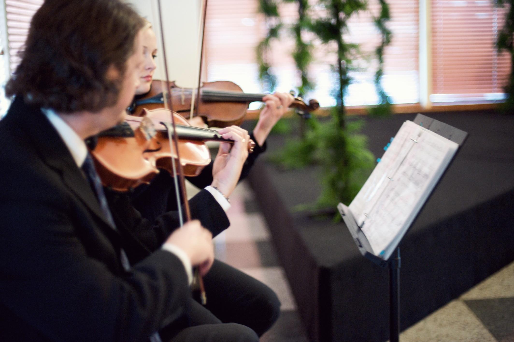 string quartet shreveport wedding